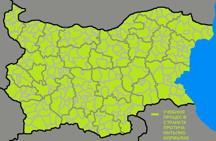 Карта на ваканциите в страната