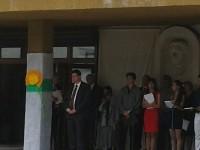 """Министър Чобанов откри учебната година в МГ """"Атанас Радев"""""""